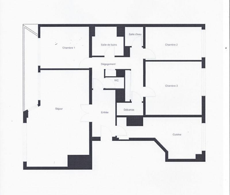 Revenda residencial de prestígio apartamento Levallois perret 1063000€ - Fotografia 3