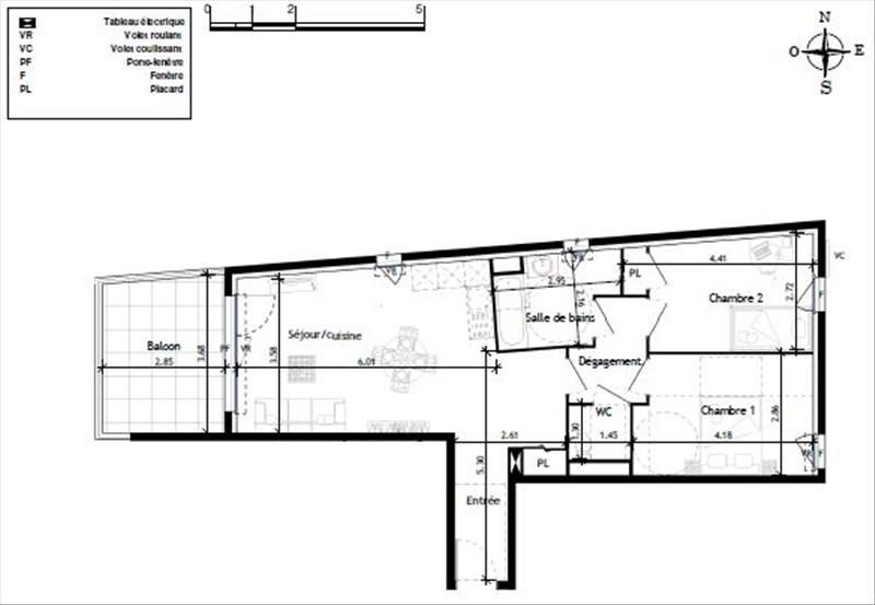 Deluxe sale apartment Le lavandou 292000€ - Picture 2