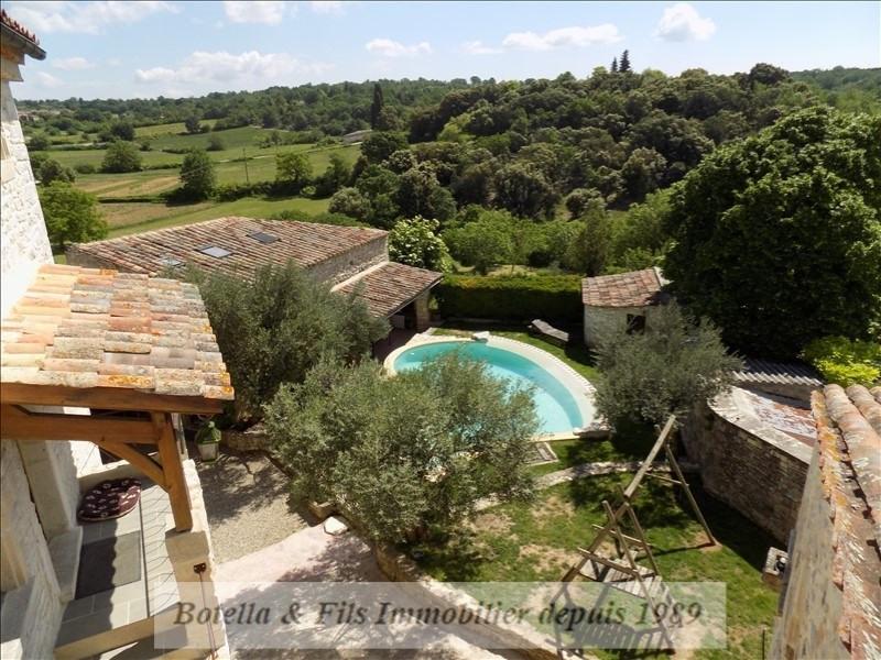 Verkauf von luxusobjekt haus Barjac 489500€ - Fotografie 2