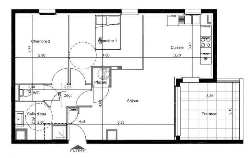 Sale apartment Perpignan 176500€ - Picture 2