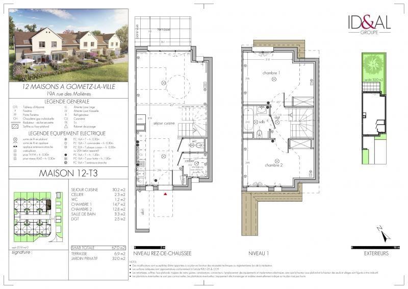 Vente maison / villa Gif sur yvette 295000€ - Photo 1