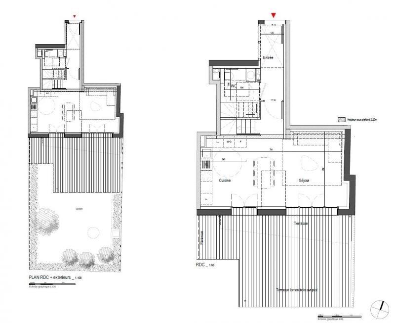 Venta  apartamento Clamart 650000€ - Fotografía 3