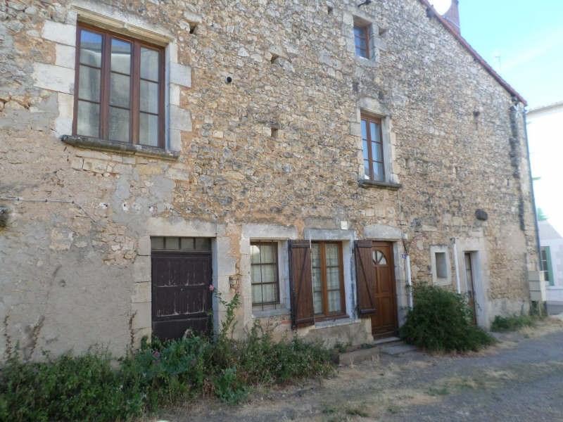 Produit d'investissement immeuble Lussac les chateaux 80500€ - Photo 2