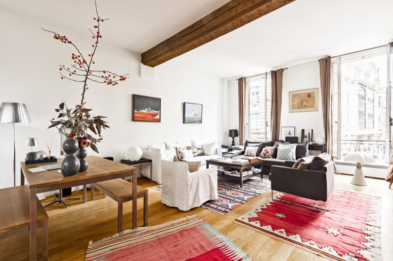 Vente de prestige appartement Paris 2ème 1 300 000€ - Photo 2
