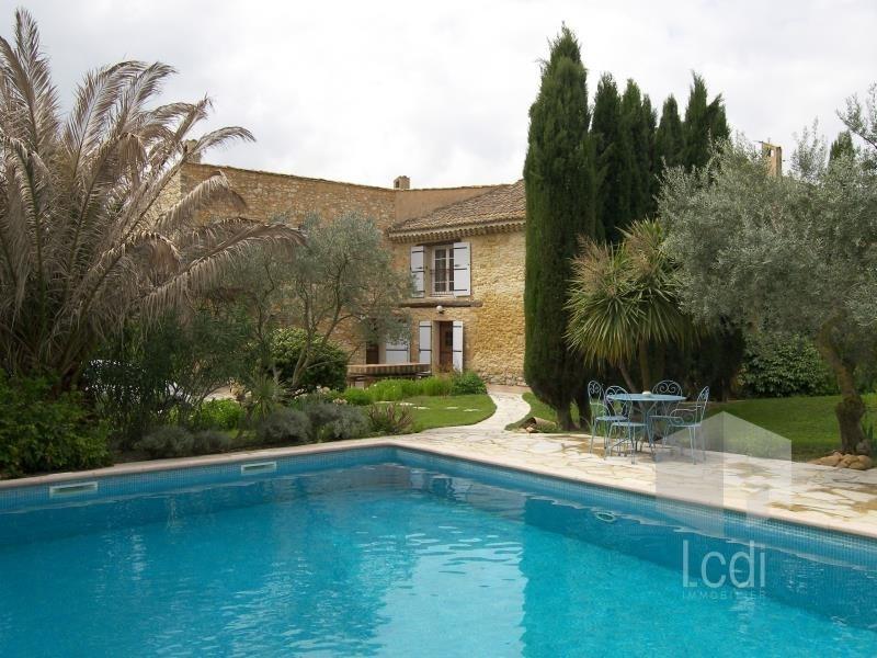 Vente de prestige maison / villa Caderousse 799000€ - Photo 1