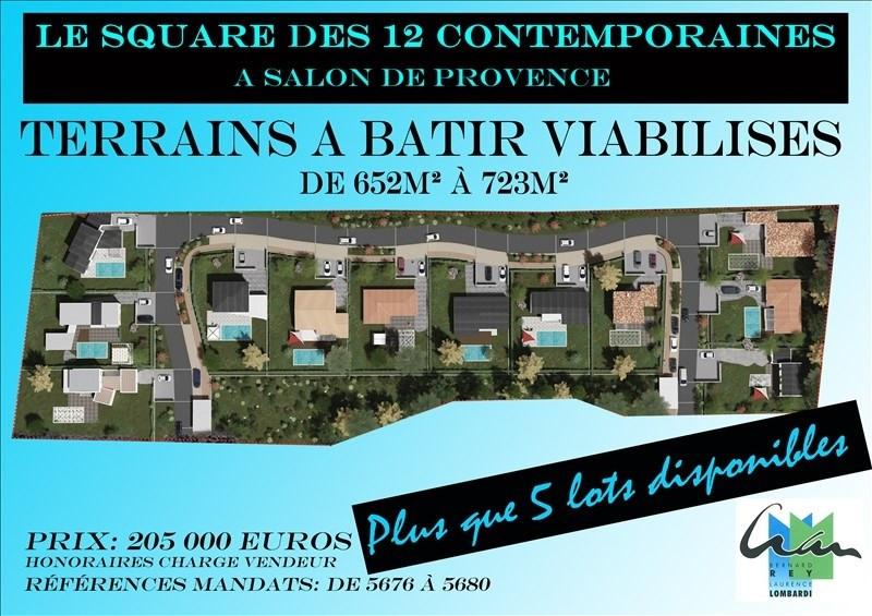 Vente terrain Salon de provence 205000€ - Photo 5