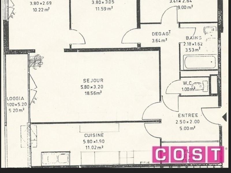 Sale apartment Gennevilliers 242000€ - Picture 1