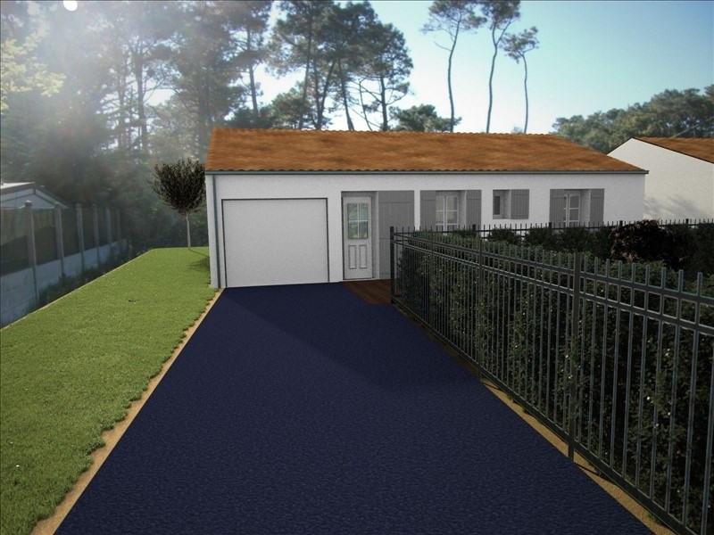 Vente maison / villa Jard sur mer 228000€ - Photo 1