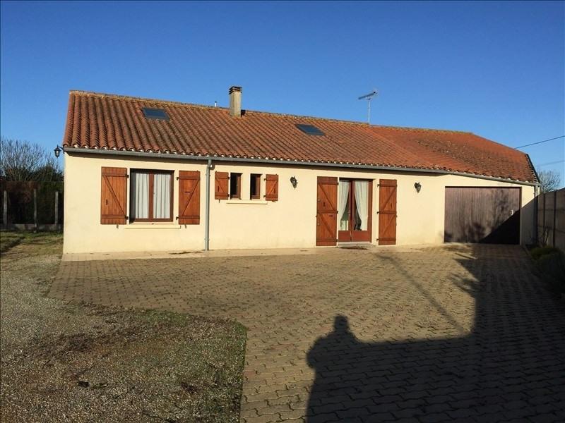 Sale house / villa St vincent sur jard 164320€ - Picture 1
