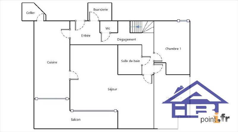 Sale apartment Fourqueux 575000€ - Picture 8