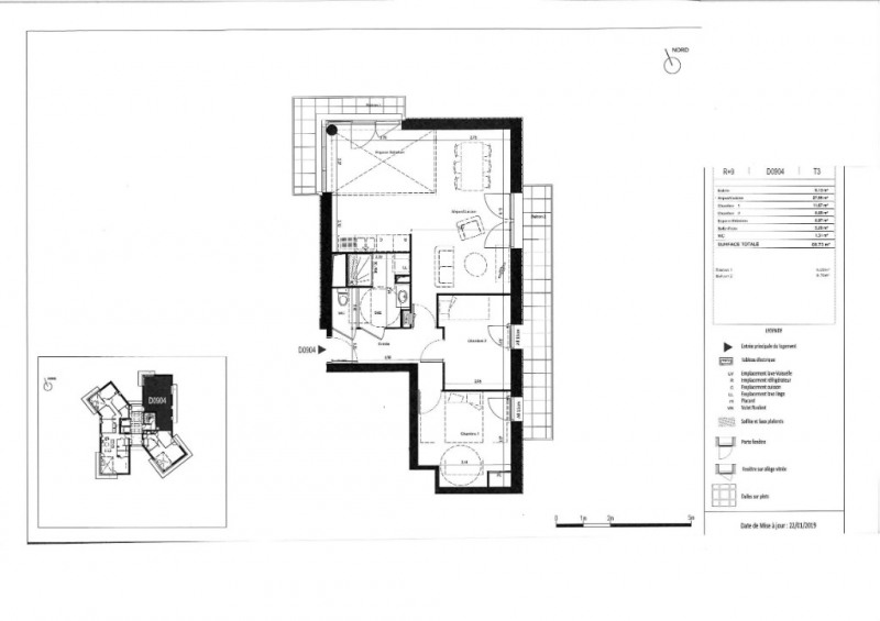 Vente appartement Rennes 241000€ - Photo 6