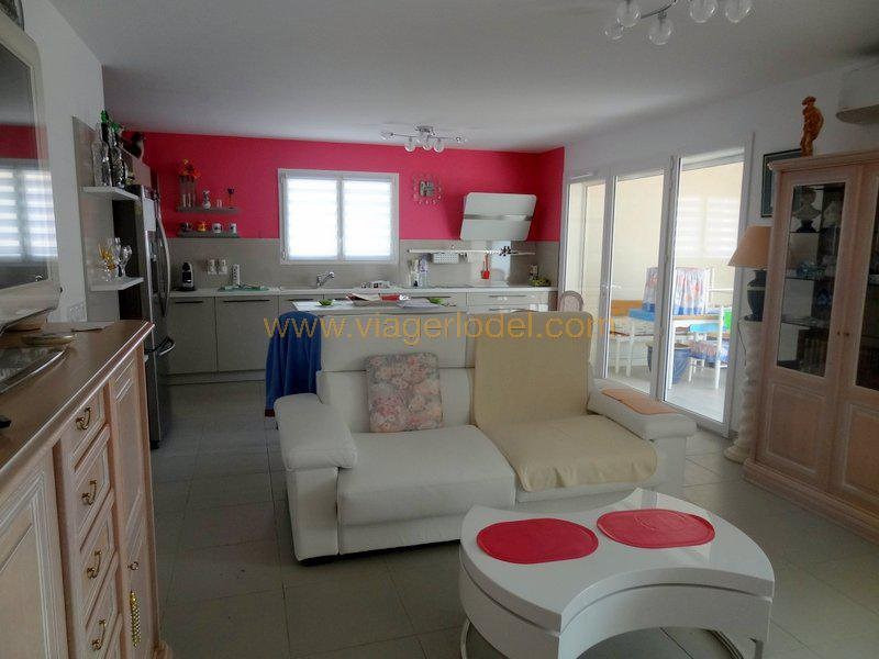 Life annuity apartment Gallargues le montueux 66 000€ - Picture 1