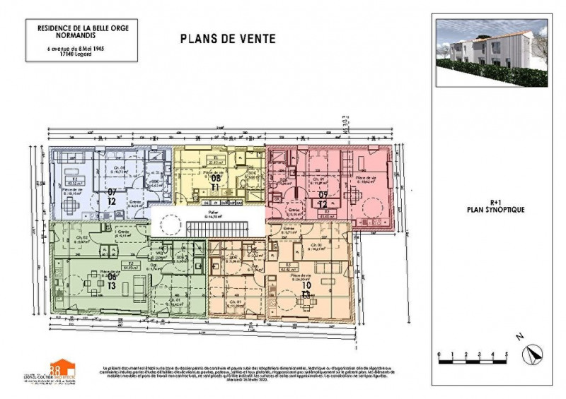Sale apartment Chagnolet 176000€ - Picture 3