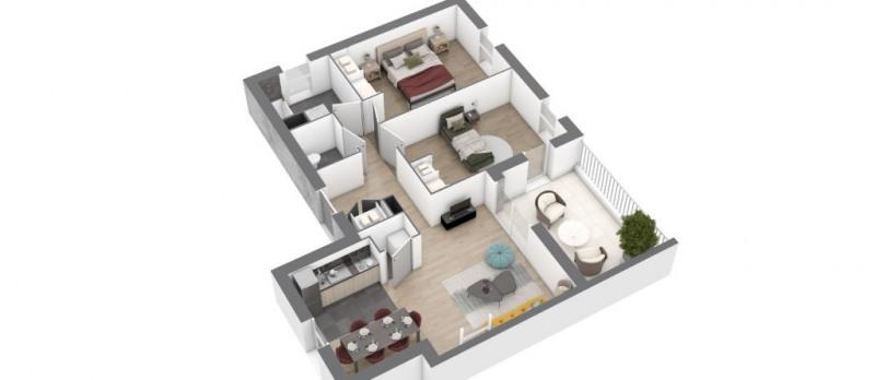 Vente appartement Saint nazaire 222000€ - Photo 4