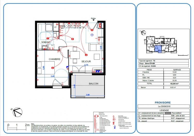 Vente appartement L isle d'abeau 149000€ - Photo 2
