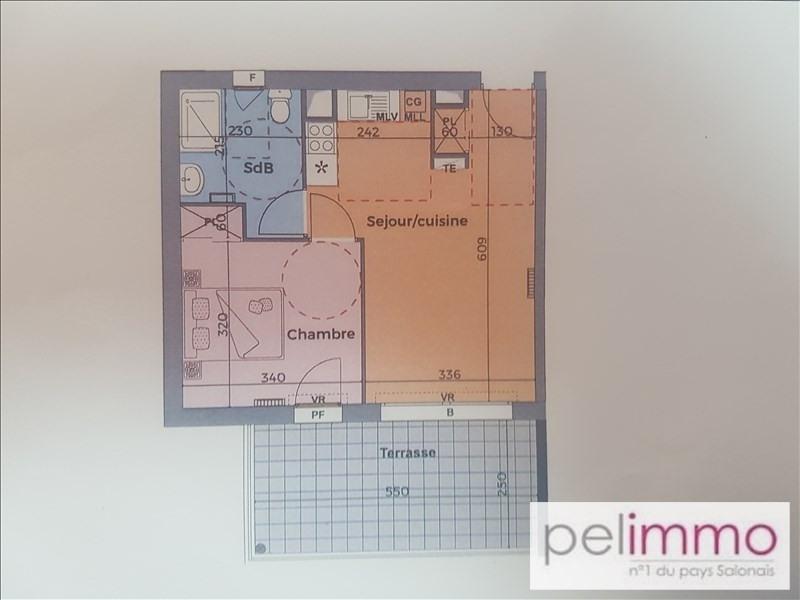 Sale apartment Eyguieres 153600€ - Picture 2
