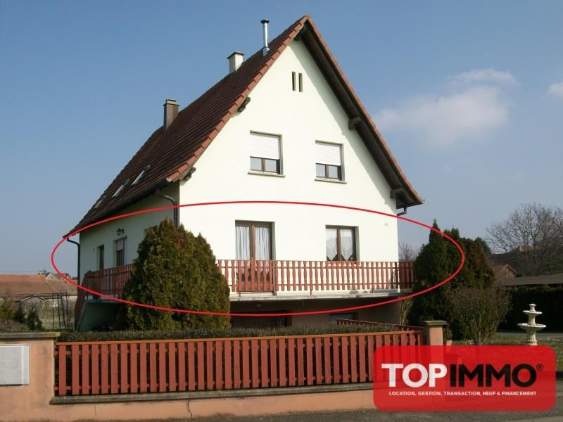 Location maison / villa Baldenheim 790€ CC - Photo 1