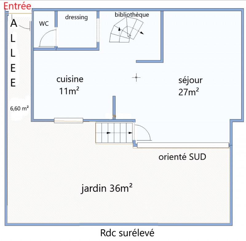 Venta  casa Meudon 775000€ - Fotografía 5