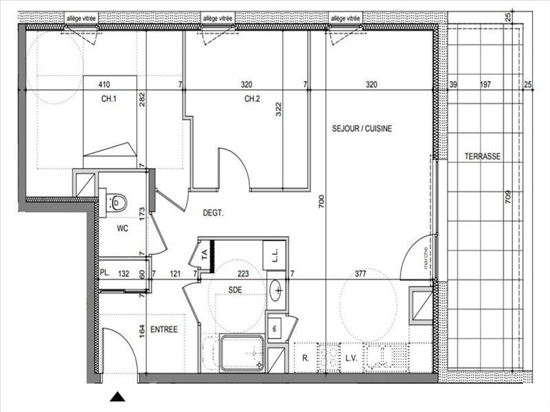 Vente appartement Chavanod 264500€ - Photo 2