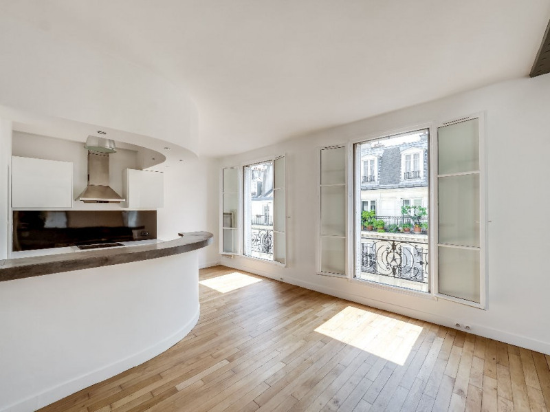 Verkoop  appartement Paris 3ème 655000€ - Foto 6