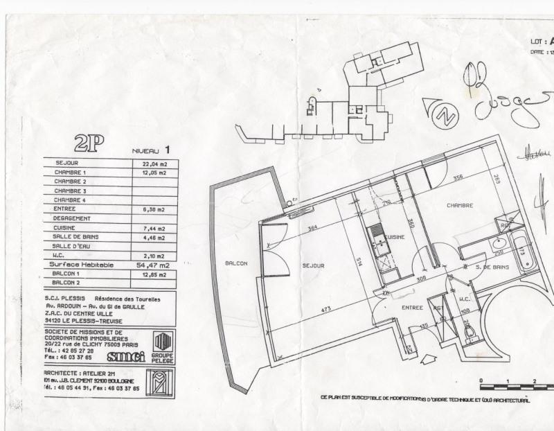 Vente appartement Le plessis-trévise 199500€ - Photo 9