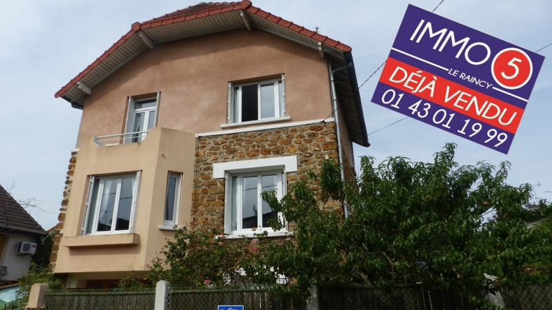 Vente maison / villa Villemomble 460 000€ - Photo 1