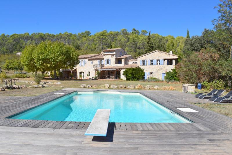 Venta de prestigio  casa Le canton de fayence 2100000€ - Fotografía 1