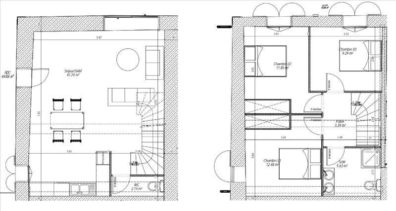 Venta  apartamento St pee sur nivelle 160000€ - Fotografía 3