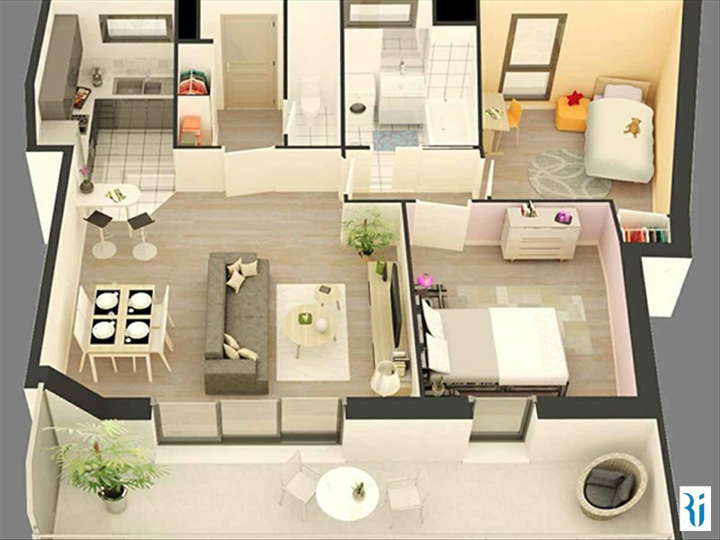 Vendita appartamento Rouen 336000€ - Fotografia 3