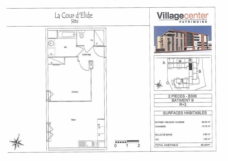 Rental apartment Sete 507€ CC - Picture 2