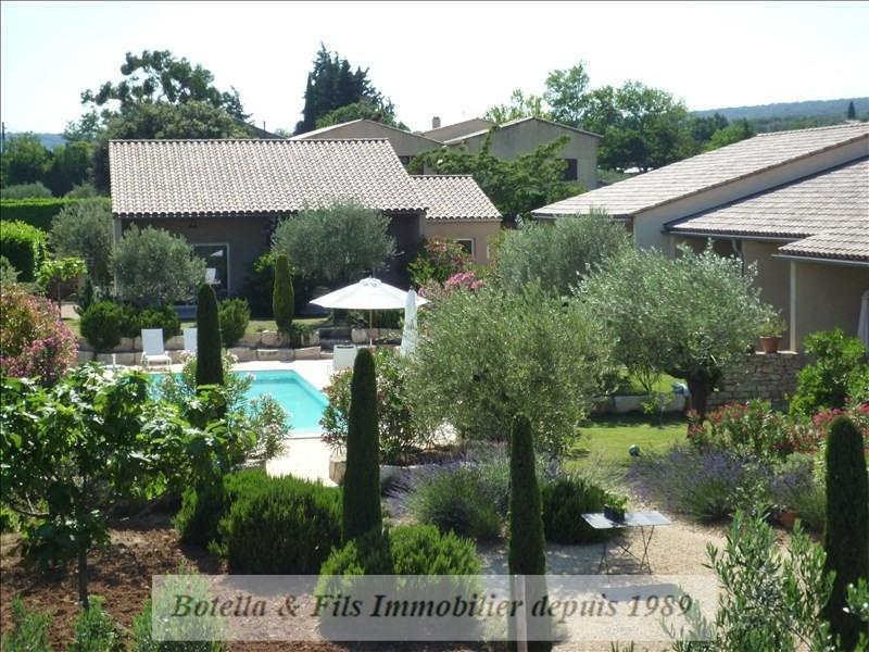 Deluxe sale house / villa Goudargues 1265000€ - Picture 1