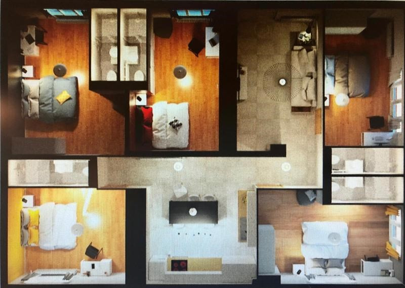 6 rooms