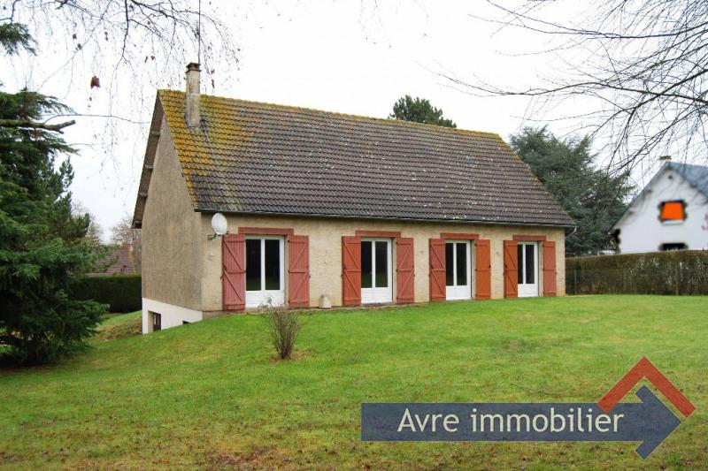 Vente maison / villa Verneuil d avre et d iton 168000€ - Photo 1