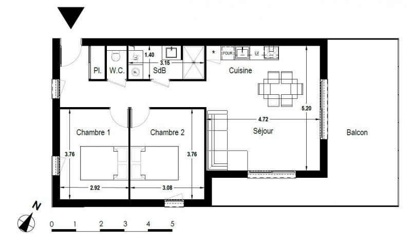 Revenda apartamento Culin 189900€ - Fotografia 5
