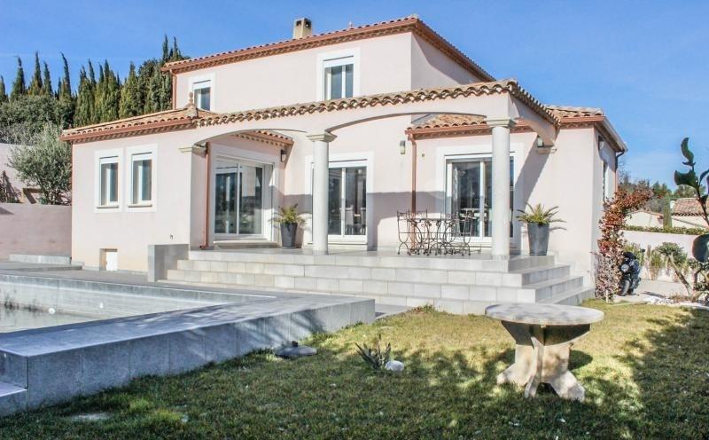 Deluxe sale house / villa Pujaut 493000€ - Picture 1