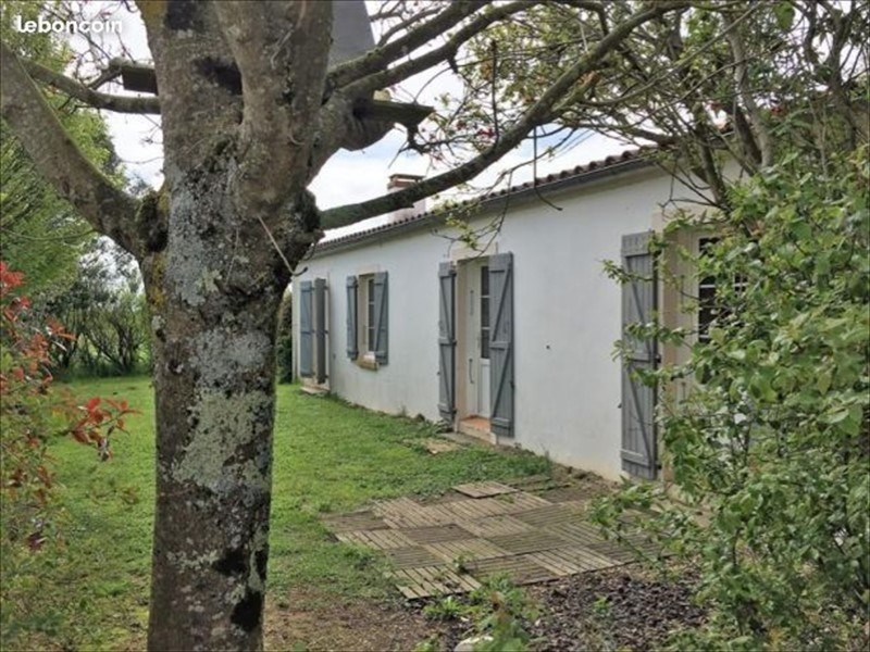 Sale house / villa Le bernard 270000€ - Picture 1