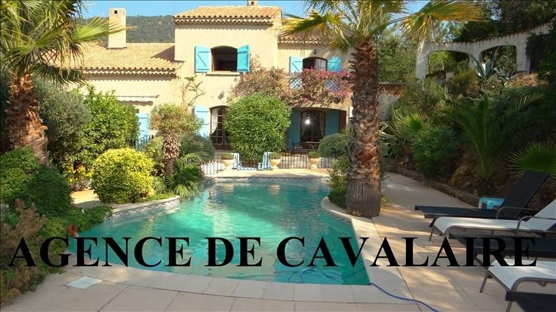 Vente de prestige maison / villa Rayol canadel sur mer 755000€ - Photo 1