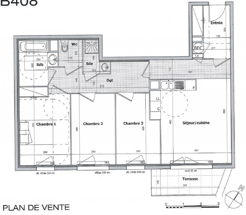 Vente appartement Cagnes sur mer 380000€ - Photo 2