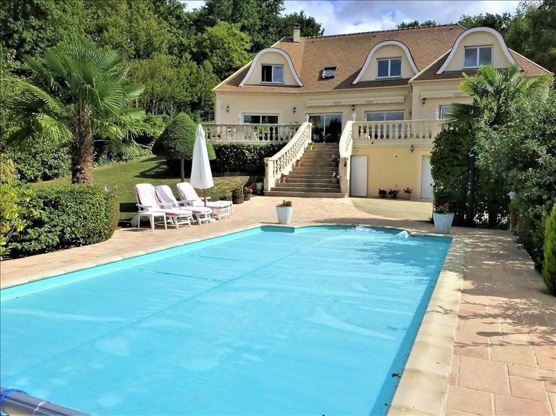 Verkauf von luxusobjekt haus Morainvilliers 1299000€ - Fotografie 1