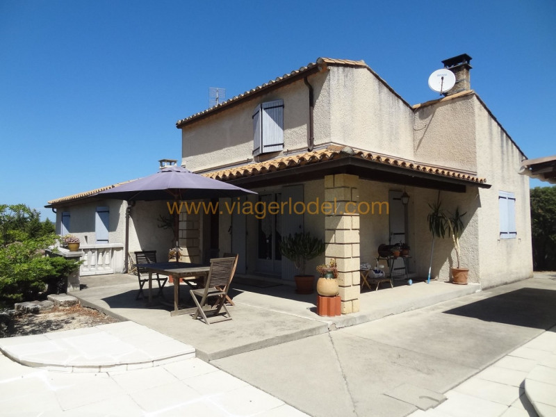 Life annuity house / villa Theziers 70000€ - Picture 3