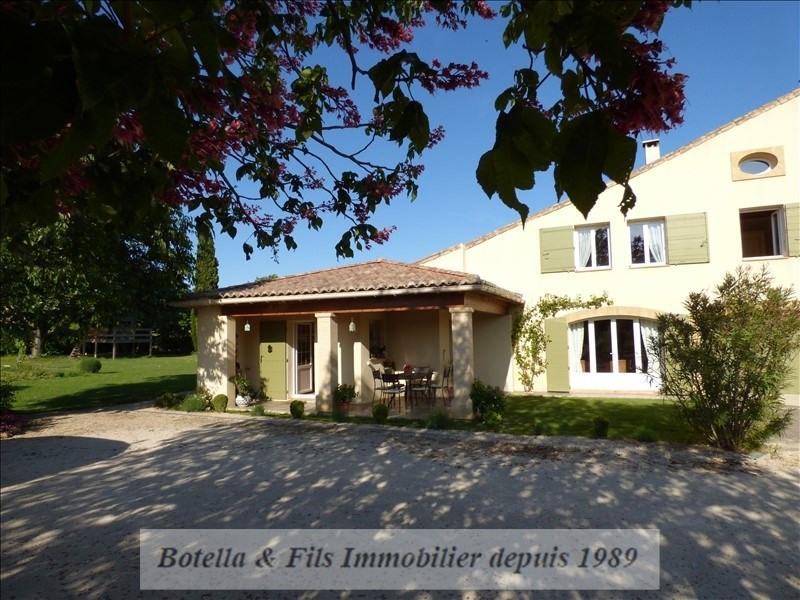Verkoop  huis Uzes 279000€ - Foto 1