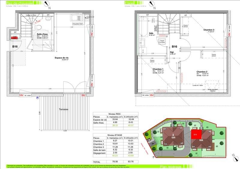 Vente appartement Vétraz-monthoux 313000€ - Photo 2