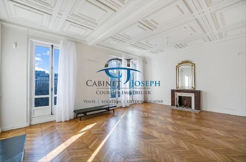 Deluxe sale apartment Paris 17ème 2 910 000€ - Picture 1