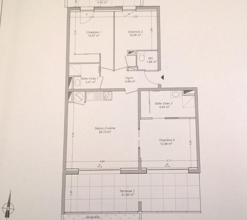 Vente de prestige appartement La londe les maures 472000€ - Photo 3