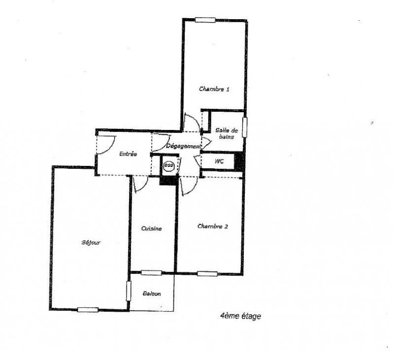 Vente appartement Châtillon 434000€ - Photo 8
