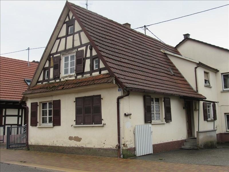 Vente maison / villa Seltz 99000€ - Photo 1