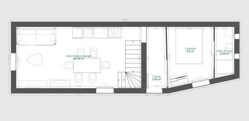 Vente appartement St genis les ollieres 220000€ - Photo 3