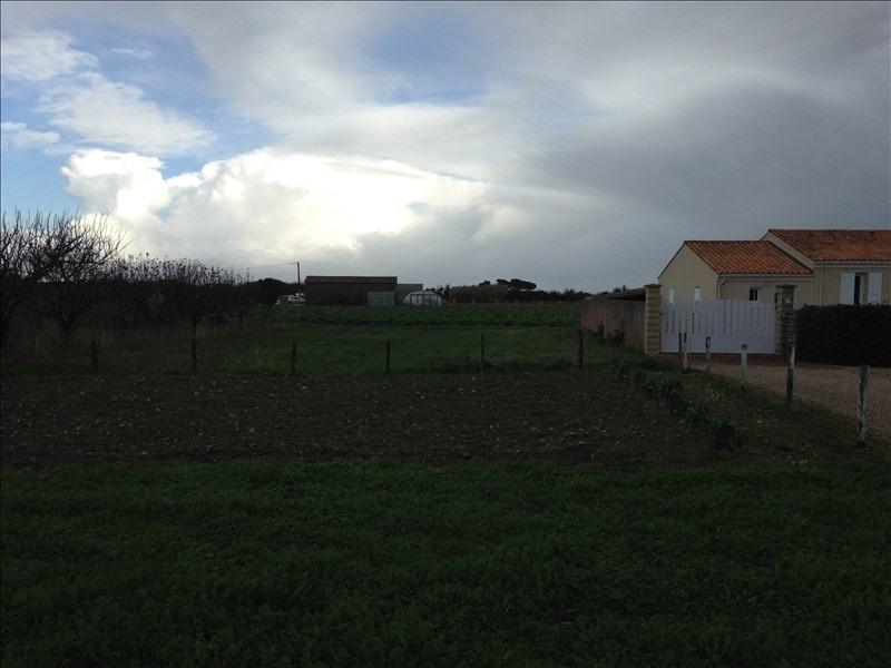 Vente terrain St denis d'oleron 121900€ - Photo 1