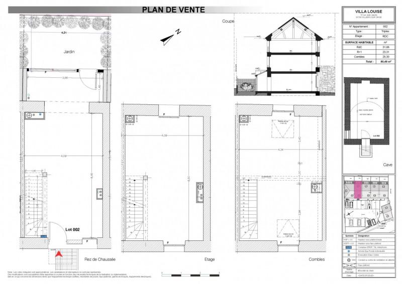 Sale house / villa Villiers sur orge 204360€ - Picture 2