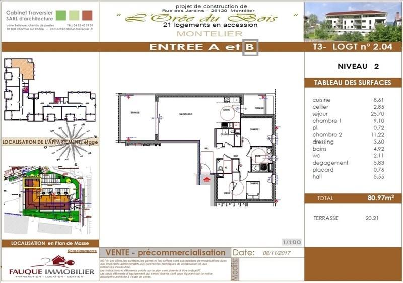 Verkauf von luxusobjekt wohnung Montelier 249000€ - Fotografie 3